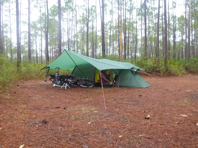 cary_state_forest_campsite_pedalpowertouring