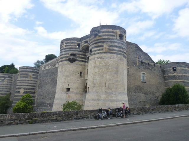 The Huge Fortress in Angers