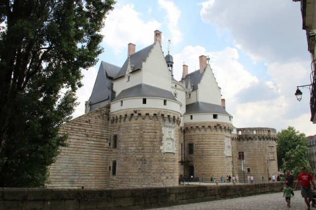 Castle in Nantes