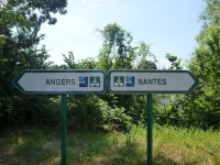 bicycle route along the Loire Valley