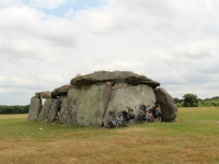 megaliths aloing the Loire valley
