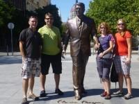 Ronald Reagan Statue, Budapest