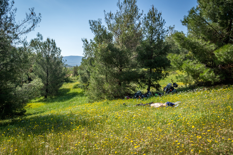 cycling central greece