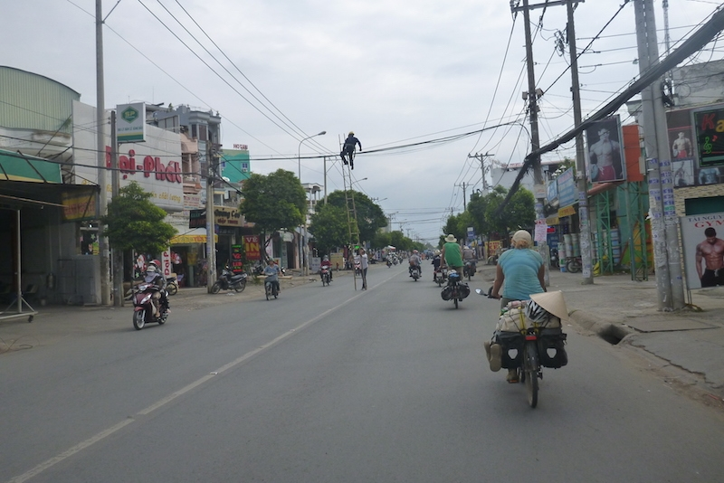 cycling to Saigon