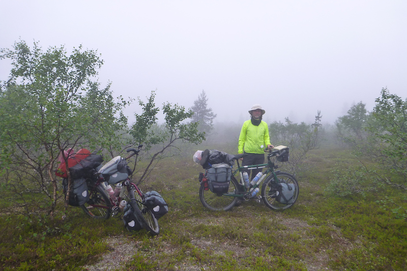 bicycle touring lapland