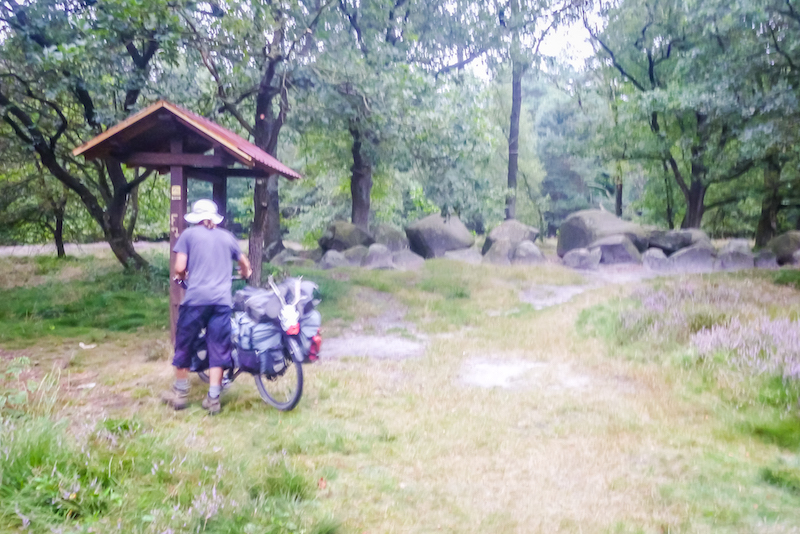 cycling megalith trail, northern germany