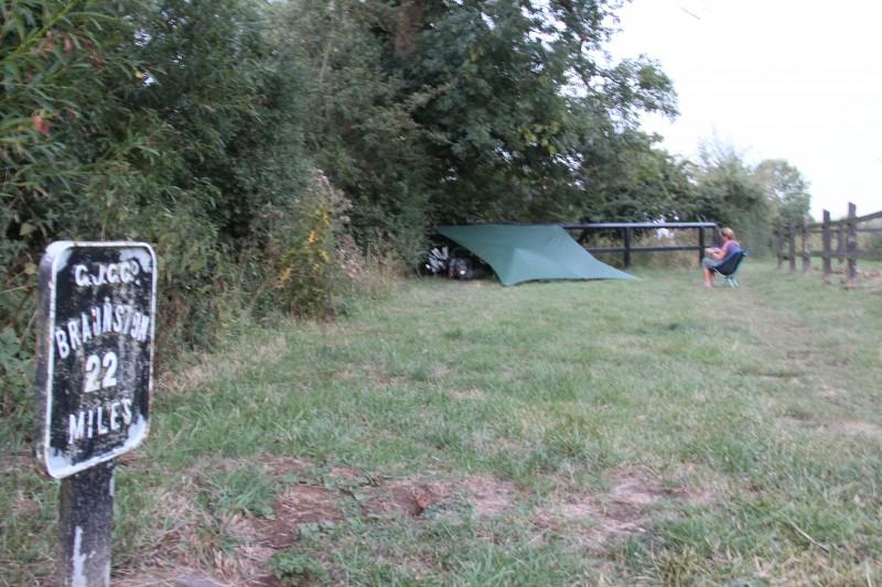hilleberg ul 10 tarp wildcamping on the british canals