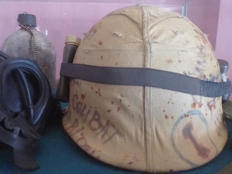 dmz vietnam usa military helmet