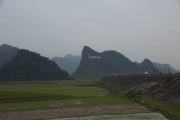 Phong Nha National Park in the distance