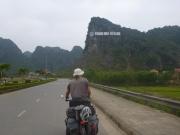Entering the Carst Mountains at Phong Nha
