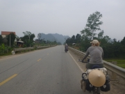It is easy riding on the Ho Chi Minh