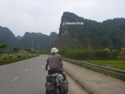 Entering the Carst Mountains at Phong Nha