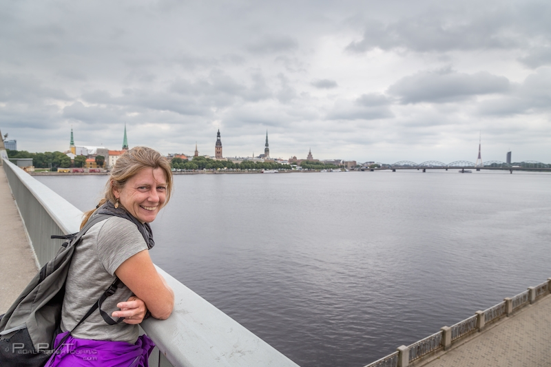 cycle touring latvia, riga