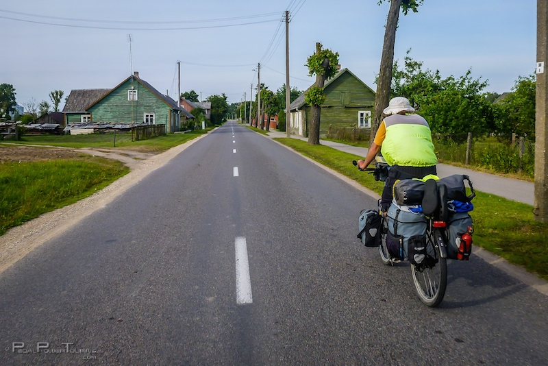 cycling through lithuania