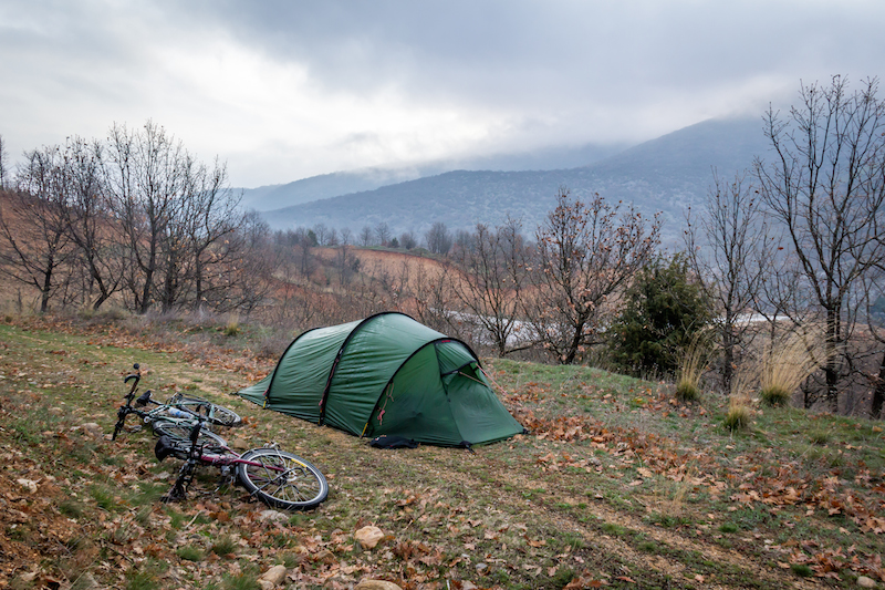 cycling northern greece