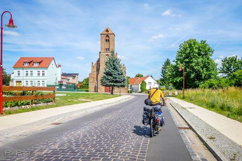 bike touring Poland