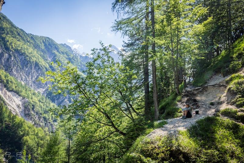 bike touring Slovenia