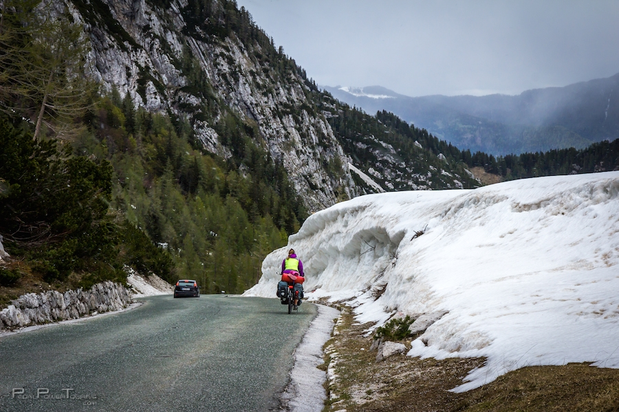 bike touring Slovenia
