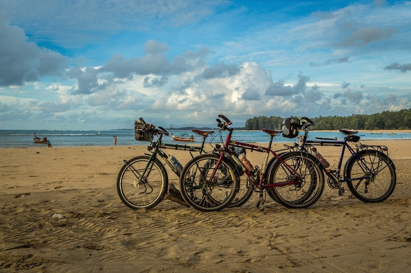 bikes on beach copy