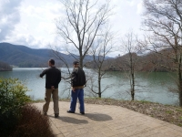 ron_charlie_watauga_lake