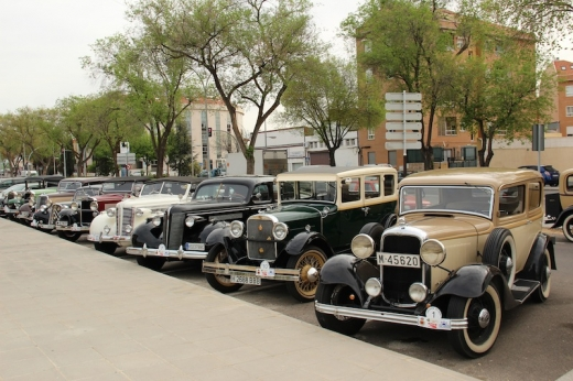 Old Cars in Ciudad Real