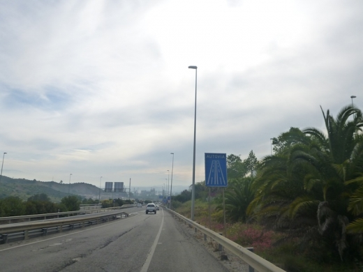 Autovia sign