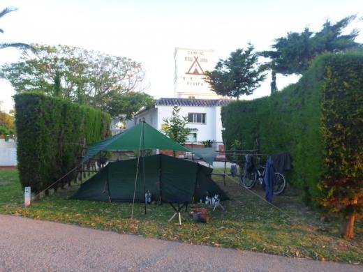 Tarifa Spain Campsite