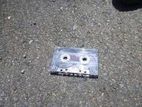 cassette_on_road