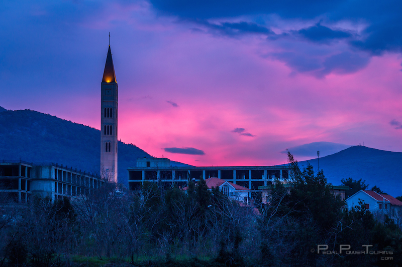 mostar_sunset