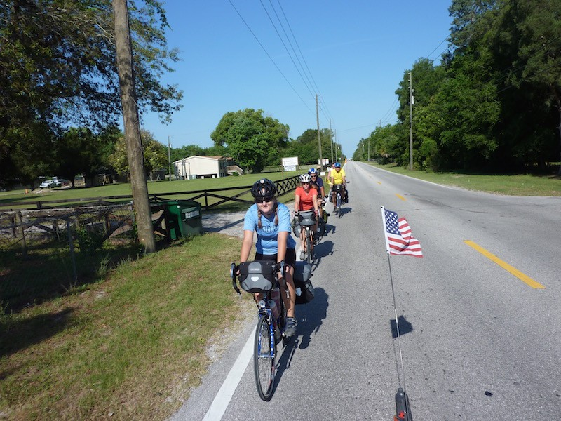 bicyle touring Florida