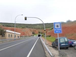 900 meter long tunnel
