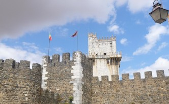 Castle in Beja, Portugal