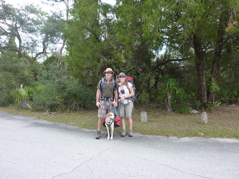 Schlappohr and us going for a weekend hike a few years ago.