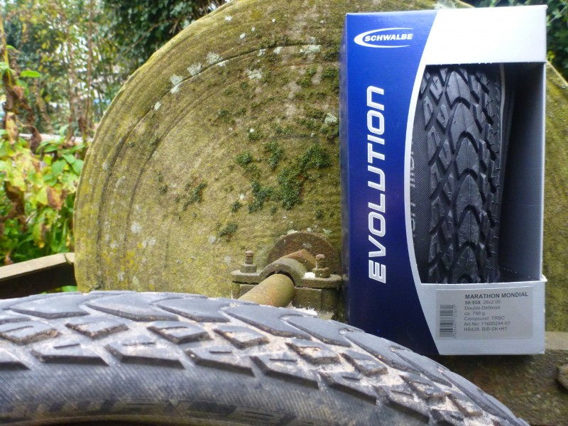 schwalbe marathon mondial tire review