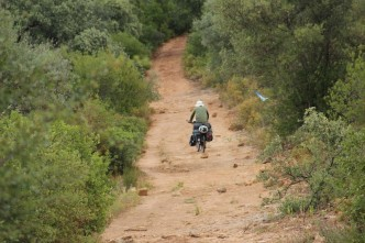 Bicycle Touring Dirt Roads in Portugal